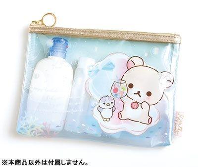 กระเป๋าใสอเนกประสงค์แบน Korilakkuma CU39901