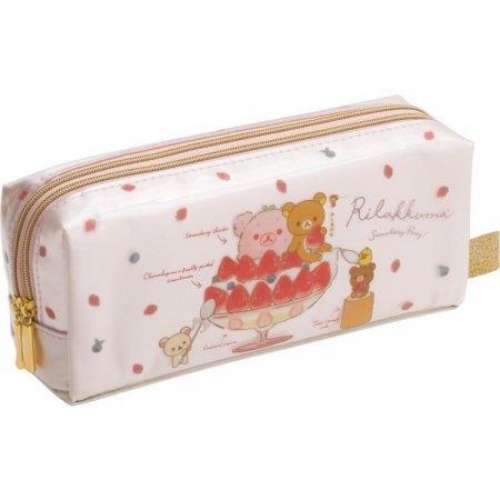 กระเป๋าใส่เครื่องเขียน Rilakkuma Strawberry PY67601
