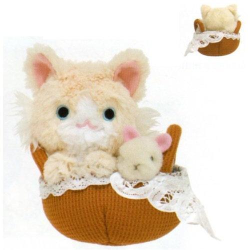 ตุ๊กตาแมวในตะกร้า MK91901