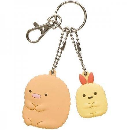 พวงกุญแจ Tonkatsu & Ebifurai Sumikko AY14001