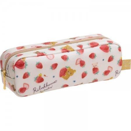 กระเป๋าใส่เครื่องเขียน Rilakkuma Strawberry PY67501