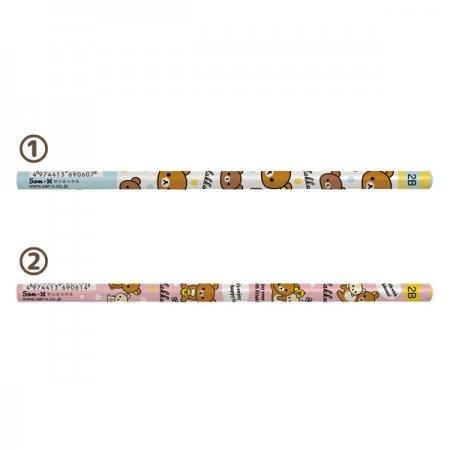 ดินสอไม้2B Rilakkuma PN09501 / PN09502