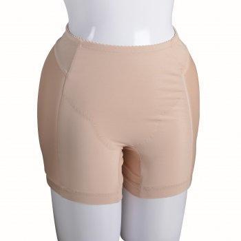 กางเกงเสริมสะโพก ช่วยเพิ่มสัดส่วนให้สะโพกแลดูสวยกลมกลึง : WX2401 สีเนื้อ (NN)