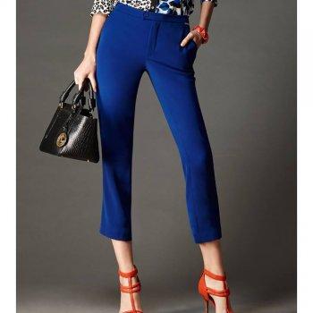 Lofficiel Pants กางเกงรันเวย์ ขา 5 ส่วน สีน้ำเงิน FI12NV