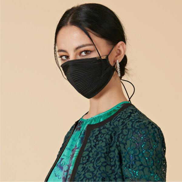 Lofficiel MASK ANTI BACTRIA ลอฟฟิเซียล หน้ากากพลีทป้องกันเชื้อโรค สีดำ FV8CBL