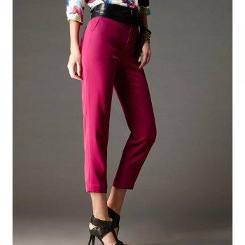 Lofficiel Pants กางเกงรันเวย์ ขา 5 ส่วน สีม่วง FM1LDV