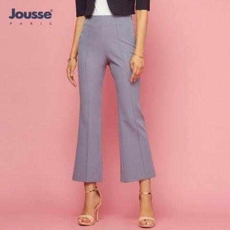 กางเกงทำงานผู้หญิง สีฟ้าอมเทา | Jousse JR36DB