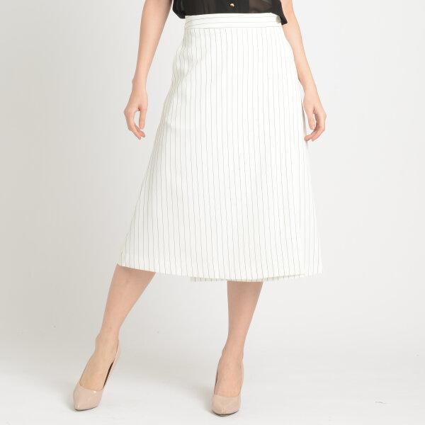 Jousse Skirt กระโปรงทรงเอ 5 ส่วน ลายเส้นทางตรง JT5LWH