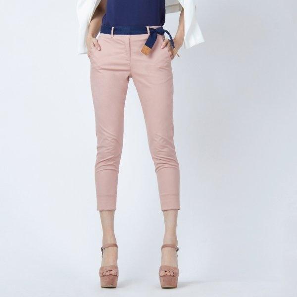 กางเกงลำลอง ขา 5 ส่วน สีชมพู | Jousse JR38LP