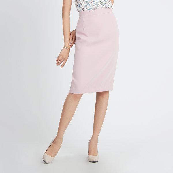 Jousse Skirt กระโปรงสีชมพู ทรงสอบสุภาพ JT5QPI