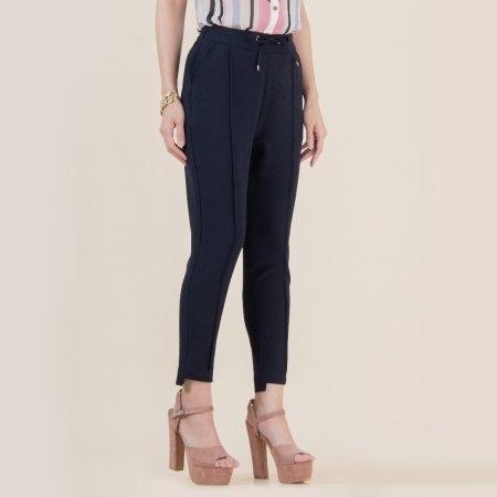 กางเกงผ้ายืดขายาว ใส่สบาย คล่องตัว สีกรม | Jousse JS1HNV