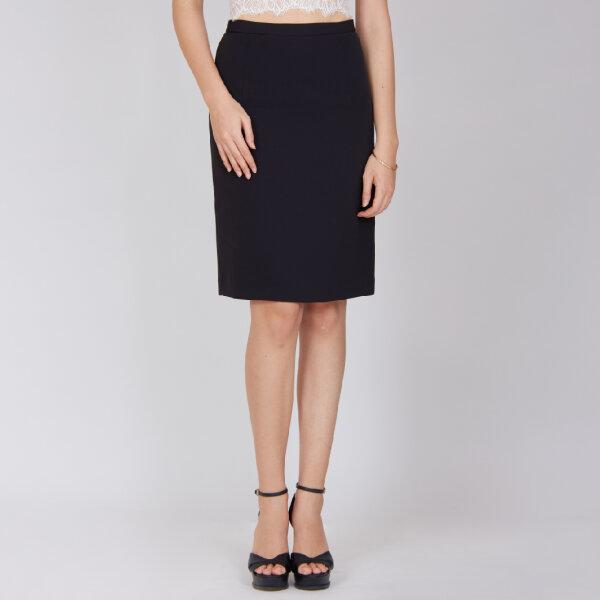 Jousse Skirt กระโปรงทำงาน กระโปรงสีดำ กระโปรงทรงสอบพอดีตัว ความยาวสุภาพ JV29BL