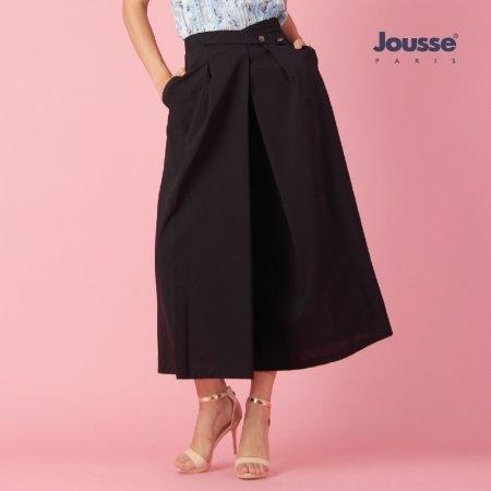 กางเกงทำงานผู้หญิง ขาบาน 5 ส่วน | Jousse