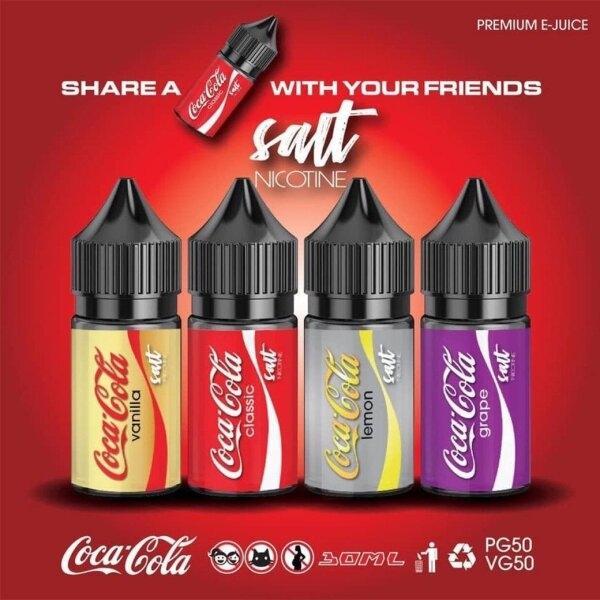 Saltnic Coca Cola - 30MG 30ML