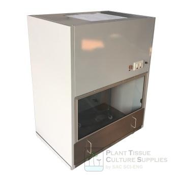 ตู้ปลอดเชื้อ ตู้เขี่ยเชื้อ แบบเหล็กเคลือบสี - Bioclean Metal (WxDxH) 90x60x113 cm. (BM9011)