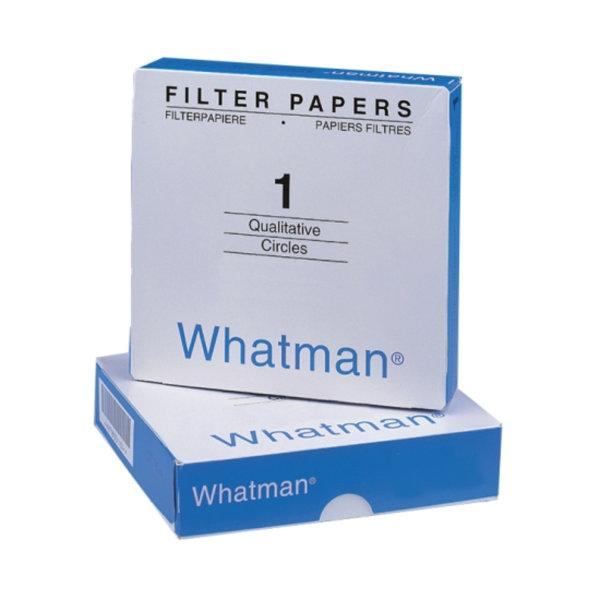 Filter Paper No.1 dia. 12.5 cm. #1001125 Whatman
