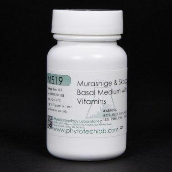 (Pre-Order 60 days) Murashige & Skoog Basal Medium with Vitamins for 10 lt. #M519 Phytotech