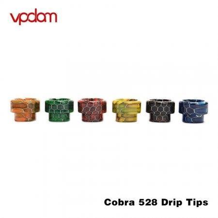ดริปทิปเรซิ่น Vpdam Cobra Drip tip Resin 510