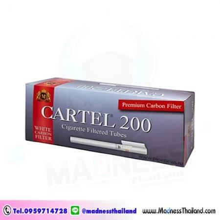 มวนเปล่า Cartel ฟิลเตอร์คาร์บอน 200 มวน