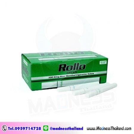 มวนเปล่าเมนทอล Rollo 100 มวน