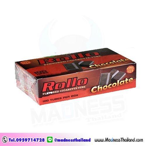 มวนเปล่ากลิ่นช็อคโกแลต Rollo 100 มวน