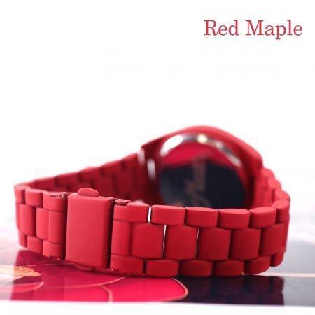 Mwatch 374 นาฬิกาข้อมือสีแดง รุ่น Roman