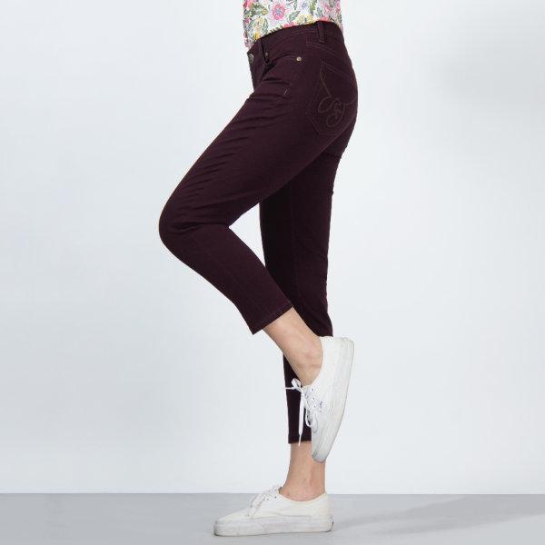 GSP จีเอสพี Magic Jeans  ขา5ส่วน สีม่วง PR3LWI