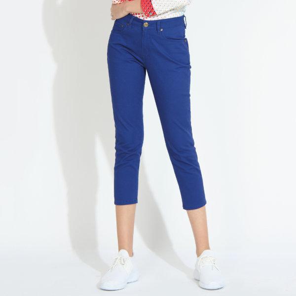 GSP จีเอสพี กางเกงเก็บหน้าท้อง ขา 5 ส่วน สีน้ำเงิน PT5NBU