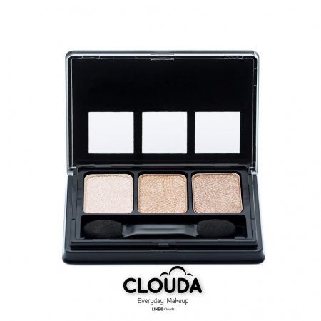 CLOUDA Triplette Eyeshadow #02 Glam & Gold