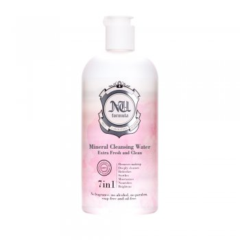 NU FORMULA Mineral Cleansing Water Extra Fresh and Clean 510ml