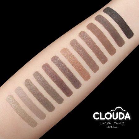 CLOUDA Nude to Metallic Shadow Palette