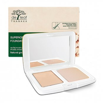 DE LEAF THANAKA Foundation Powder