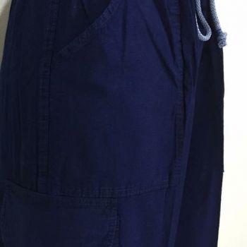 กางเกงผ้าม่อฮ่อม สีกรม ชาย-หญิง
