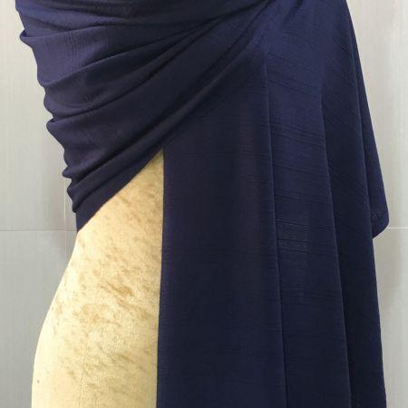 ผ้าพันคอ/ผ้าคลุมไหล่-สีกรม