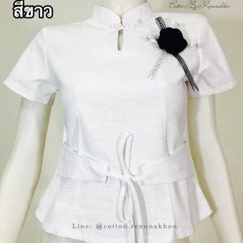 เสื้อผ้าฝ้ายผู้หญิง