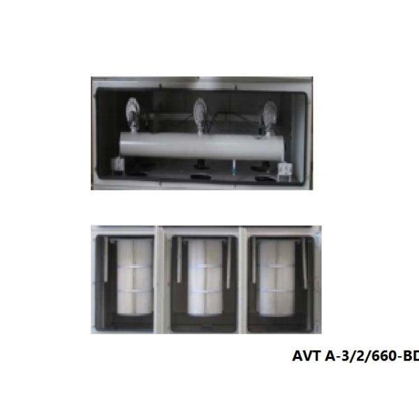 Dust collector เครื่องดักฝุ่นอุตสาหกรรม AVT A-3/2/660-BD7