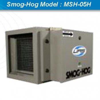 Oil mist collector เครื่องดักควันและไอน้ำมันระบบไฟฟ้าสถิตย์ ESP : Smog-Hog Model : MSH-05H