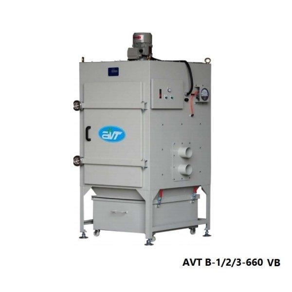 Dust collector เครื่องดักฝุ่นอุตสาหกรรม AVT B-1/2/3-660 VB