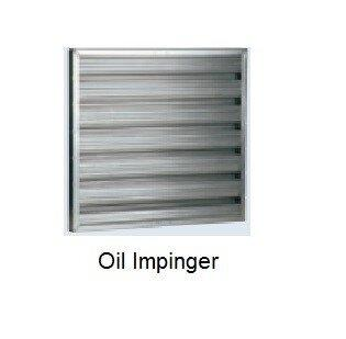 Oil mist collector เครื่องดักควันและไอน้ำมันระบบไฟฟ้าสถิตย์ ESP : Sparepart : OIL IMPINGER