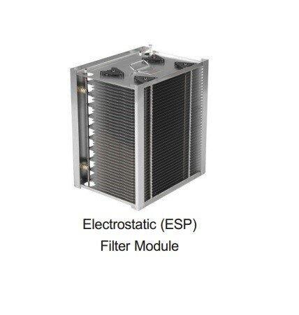 Oil mist collector เครื่องดักควันและไอน้ำมันระบบไฟฟ้าสถิตย์ ESP : Sparepart : GPN Cell ELETROSTATICS (ESP) FILTER MODULE