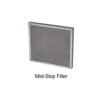 Oil mist collector เครื่องดักควันและไอน้ำมันระบบไฟฟ้าสถิตย์ ESP : Sparepart : MIST-STOP FILTER