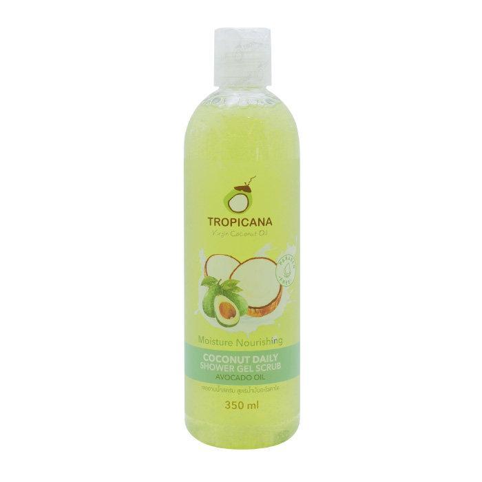 เจลอาบน้ำสครับ Tropicana สูตรน้ำมันอะโวคาโด