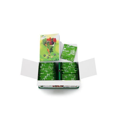 ผักอัดเม็ด Bioveggie x 24 กล่อง Bioveggie Vegetable Tablets x 24 Boxes