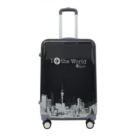 กระเป๋าเดินทาง รุ่น 2155 ขนาด 25นิ้ว (สีดำ)