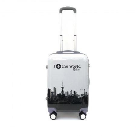 กระเป๋าเดินทาง รุ่น 2155 ขนาด 20 นิ้ว (สีขาว)