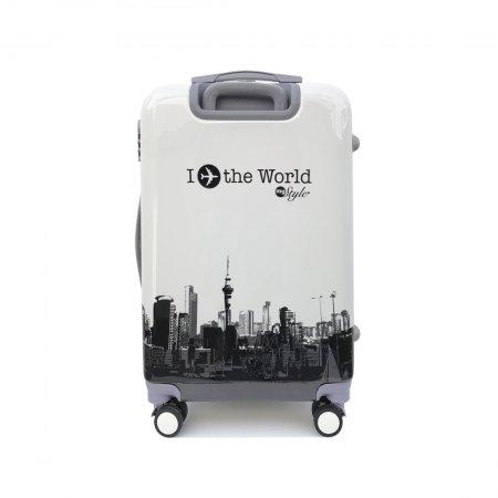 กระเป๋าเดินทาง รุ่น 2155 ขนาด 25นิ้ว (สีขาว)
