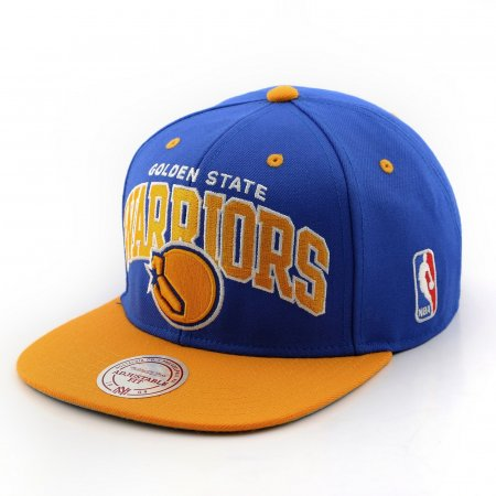 Mitchell & Ness หมวก รุ่น GOLDEN STATE WARRIORS สี ROYAL/YELLOW