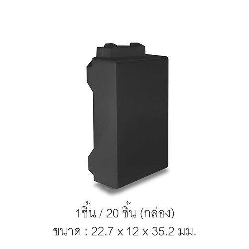 ฝาปิดช่องว่างสำหรับหน้ากากรุ่น Classic series สีดำ (1 ชิ้น/ 20 ชิ้นต่อกล่อง) NN-COVER01B