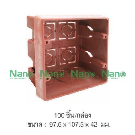 บล็อคฝัง NANO (100 ชิ้น/กล่อง) NANO-409