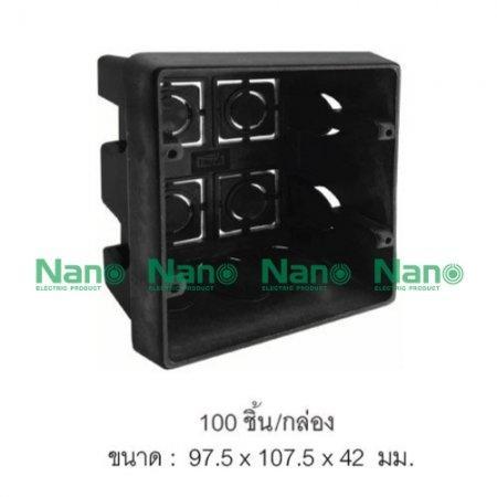 บล็อคฝัง NANO  (100 ชิ้น/กล่อง) NANO-409B